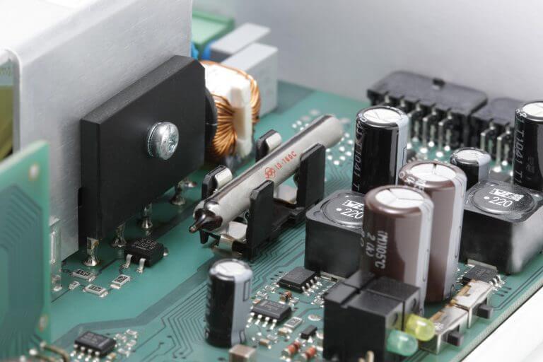 E-Bulb auf Leiterplatte