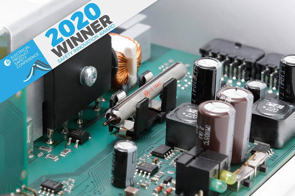 E-Bulb wins UK Safety Innovation Award 2020